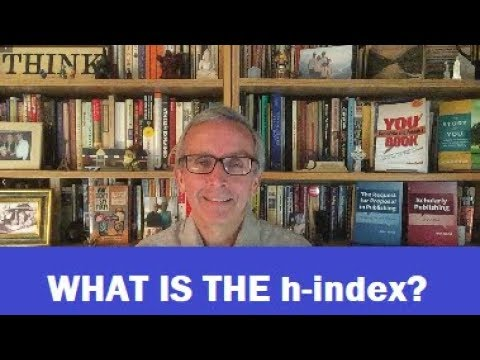 What is the h-index?