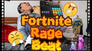 Maschine - FORTNITE Rage Beat - Sampling my son's mini rage