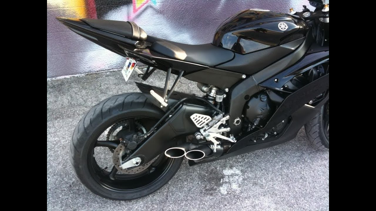 2010 Yamaha R6 Raven Part 3 - YouTube