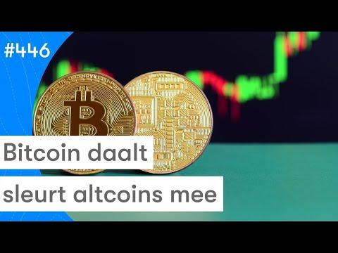 Bitcoin Daalt En Sleurt Altcoins Mee! | BTC Nieuws Vandaag | #446