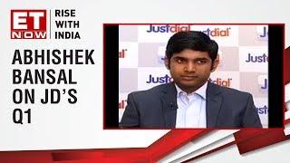 Abhishek Bansal, CFO Justdial speaks on the Quarter 1 of Just Dial
