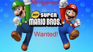 New Super Mario Bros. DS Minigames - Wanted!