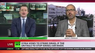 Syria threatens to 'strike Tel Aviv airport' if UN fails to stop Israeli air raids