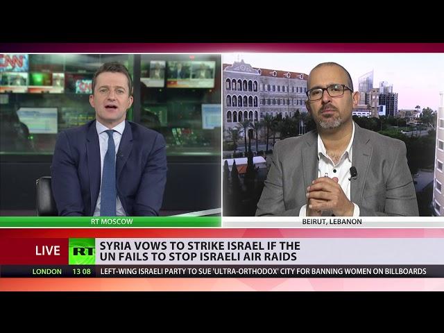 Syria Threatens To Strike Tel Aviv Airport If Un Fails To