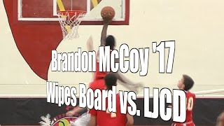 Brandon McCoy '17 Wipes the Board vs. LJCD, UA Holiday Classic, 12/30/16
