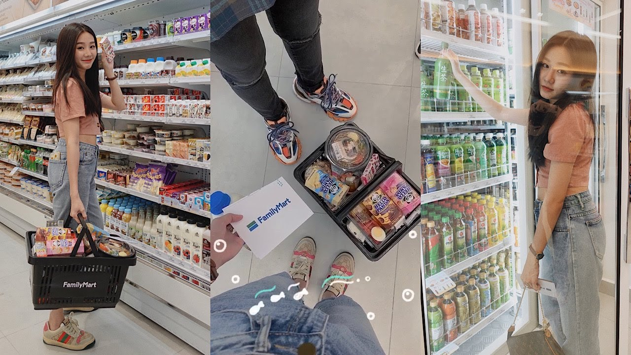 「VLOG01」跟我们一起去全家FamilyMart走走看我们都买了些什么好吃的? | Laries陈栎