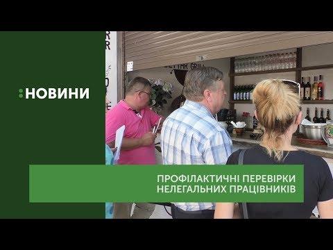 Нелегальних працівників шукали у закладах відпочинку Ужгорода