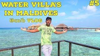 Maldives One Day Trip to Private water Villa Resort