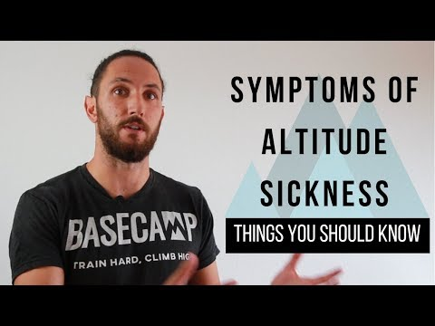 Altitude Sickness - Recognising The Symptoms