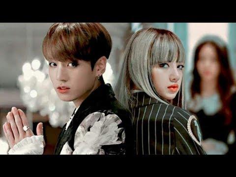 [BTS] [BlackPink] Клип Лиса и Чонгук - Нравлюсь ли я ему