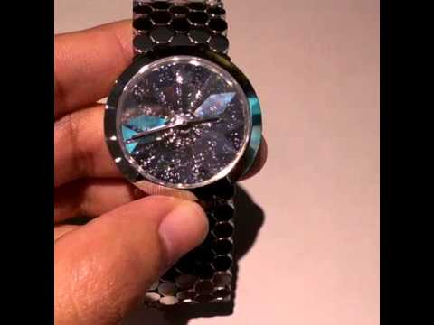 2e224396e3cc40 Swarovski lake of shimmer crystal watch - YouTube