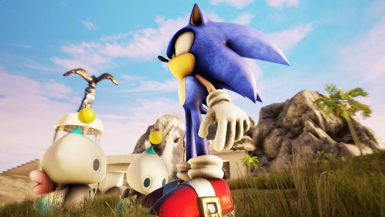 Sonic Adventure 2 Chao Garden Recreated In Unreal Engine 4