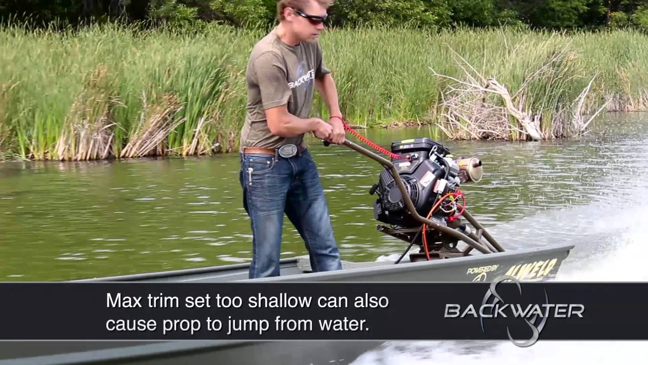Mud Motors | Long Tail Shallow Water Boat Motor | Backwater Inc