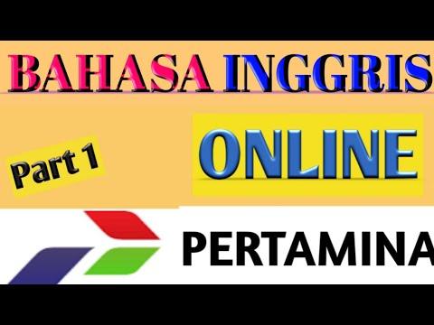 Soal Tes Bahasa Inggris Online- PT. Pertamina Terbaru