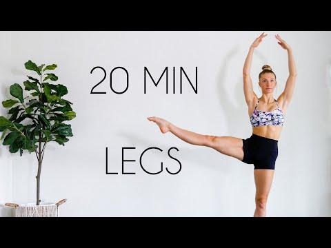 LONG & LEAN LEGS Workout (Toned Ballet Legs/No Equipment)