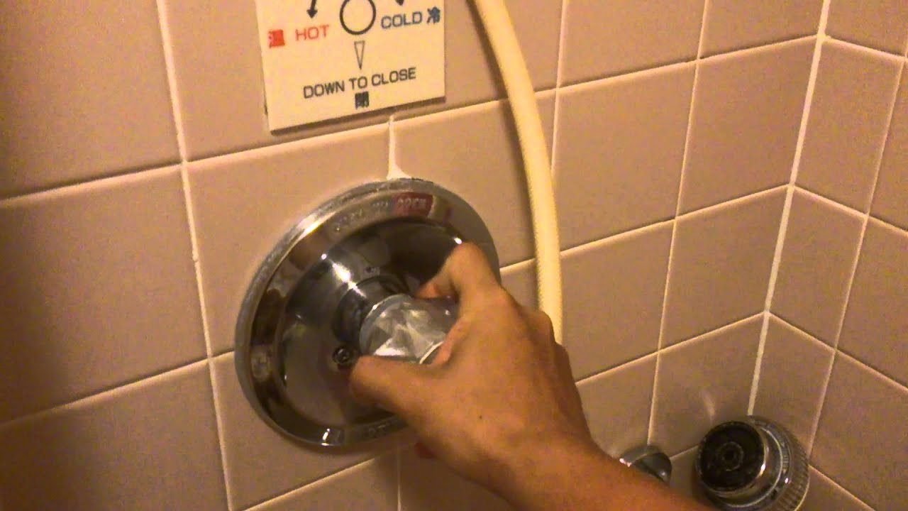 How to use Delta Tub Faucet / Shower Valve (Guam) - YouTube