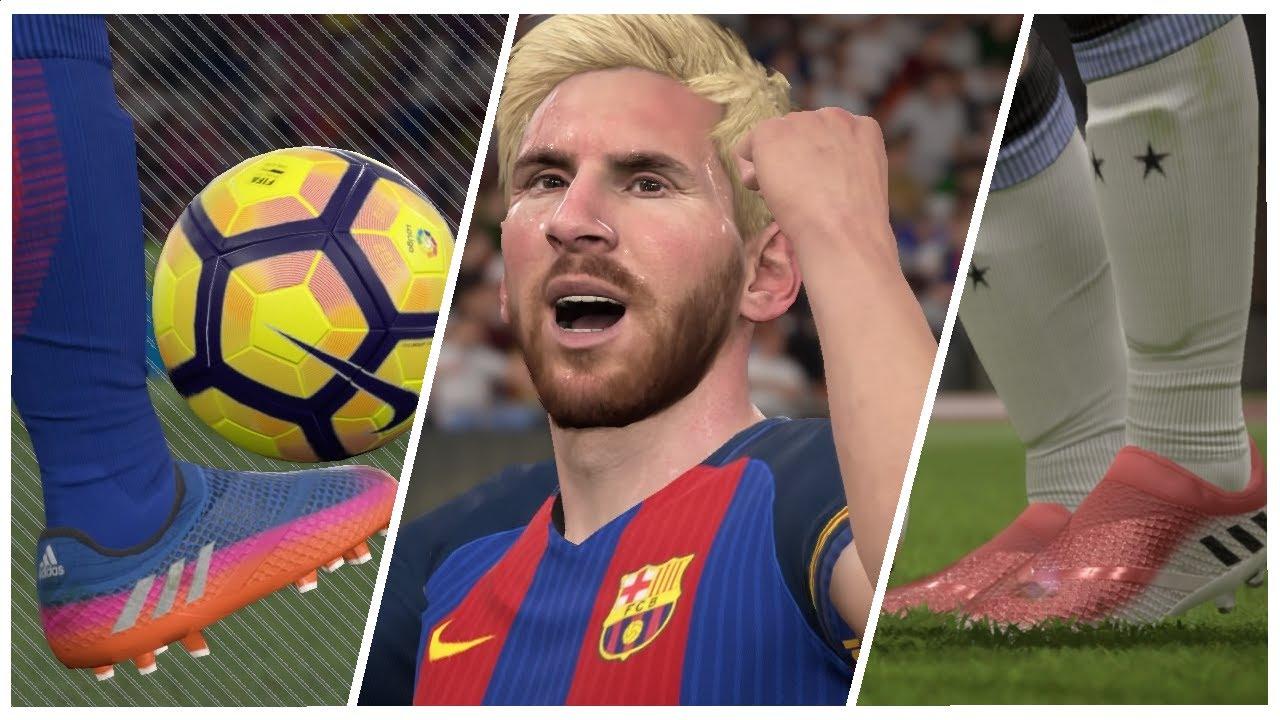e40714d9b FIFA 17  LIONEL MESSI BOOTS PACK - COMPILATION GOALS   SKILLS 2017 ...