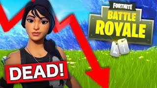 Fortnite is DYING and will be GONE in 2019?