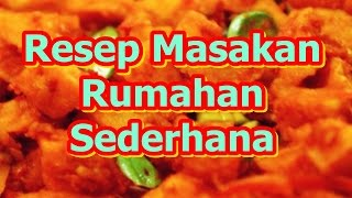 Video Resep Masakan Rumahan Sederhana Dan Murah download MP3, 3GP, MP4, WEBM, AVI, FLV Agustus 2018
