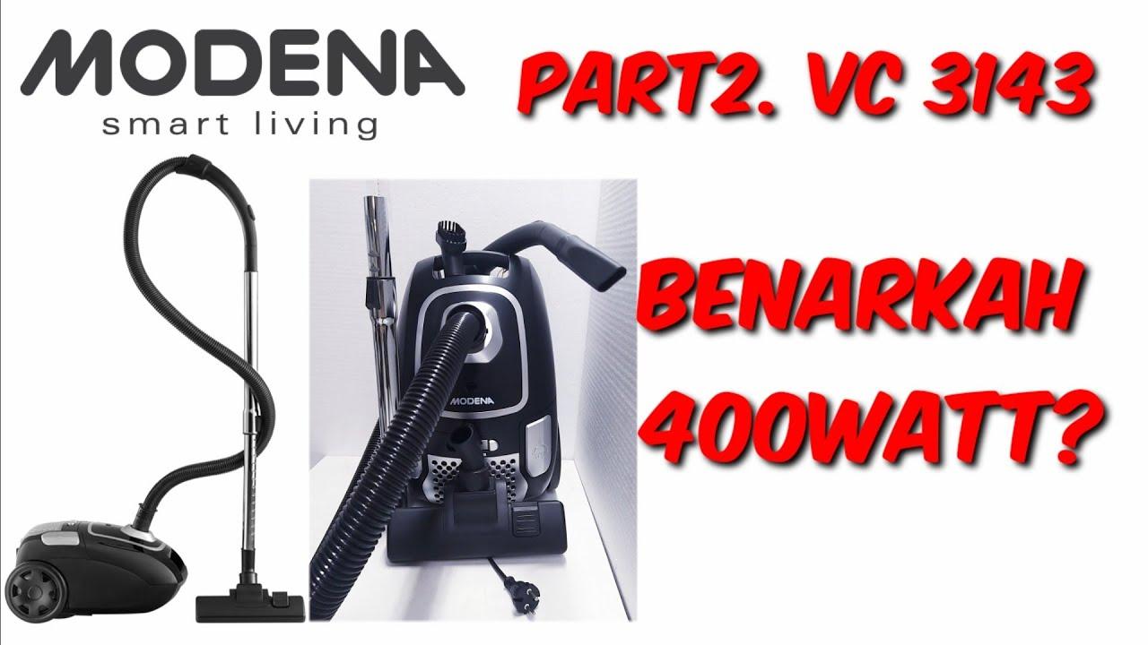 Part 2. Test Watt Vacum Modena VC 3143