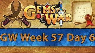 ⚔️ Gems of War Guild Wars | Week 57 Day 6 | Last of Gnome Grind ⚔️