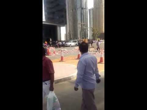 Earth Quake in Dubai, Part 2. Slackers arent they all...  Haaaa. 3:  APRIL 16, 2013