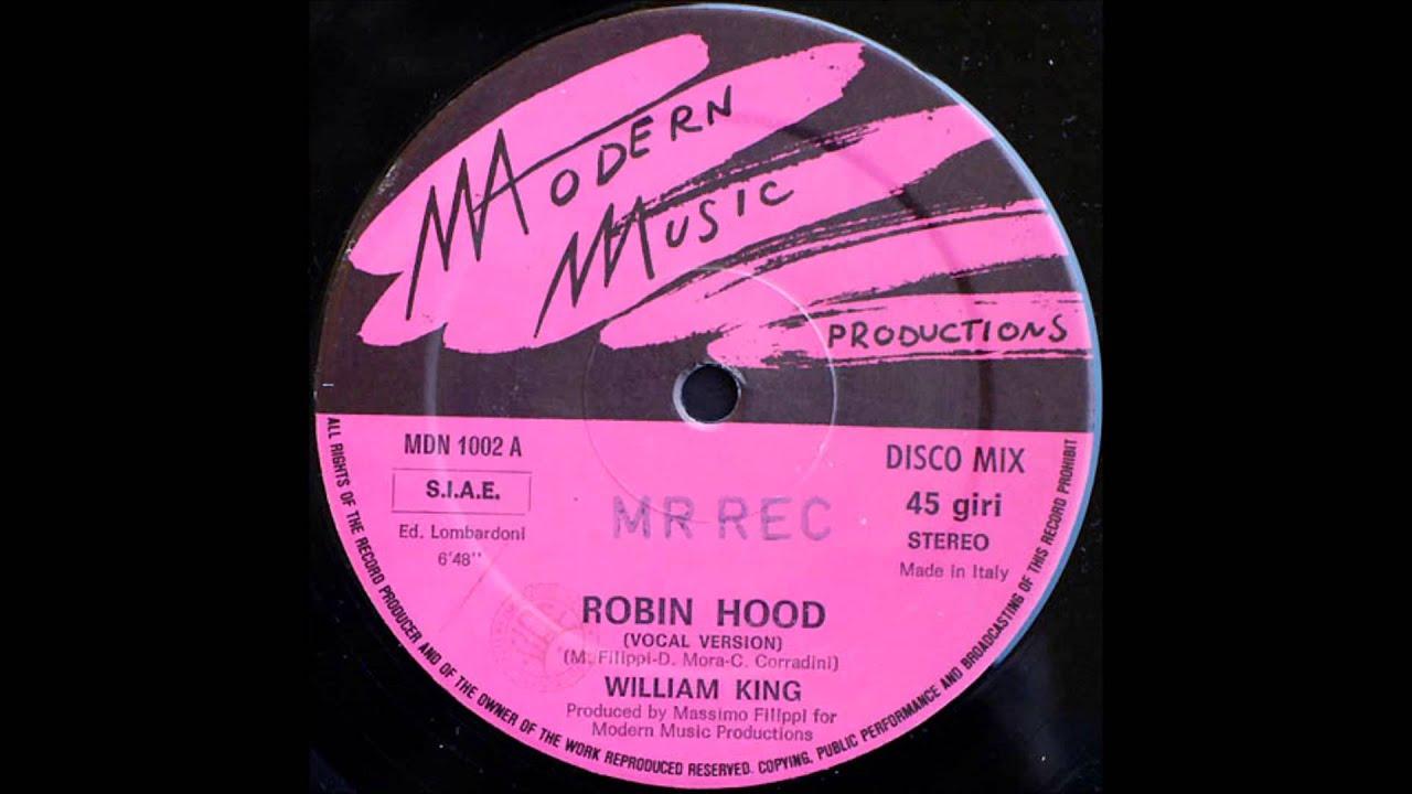 William King - Robin Hood [ Italo Disco 1986 ]