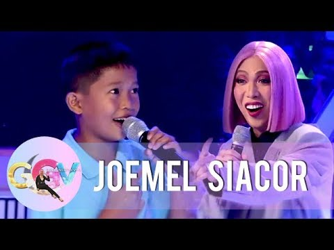 Joemel performs his viral rendition of 'Ate Vice Ganda Song' | GGV
