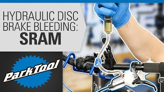 How to Bleed Hydrąulic Disc Brakes - SRAM®
