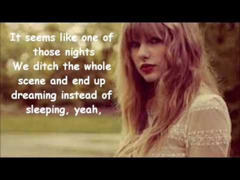 Taylor Swift-22 Lyrics