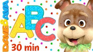 🐶 Bingo and More Nursery Rhymes | Baby Songs | Dave and Ava 🐶