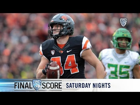 Highlights: Oregon State football downs Oregon, gets first Civil War win since '07