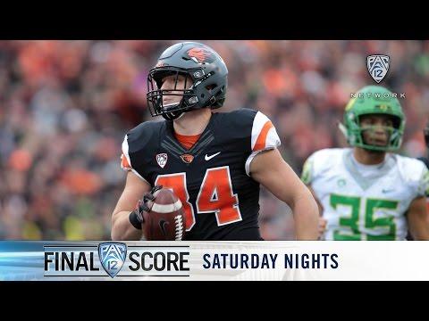 Highlights: Oregon State football downs Oregon, gets first Civil War win since '07