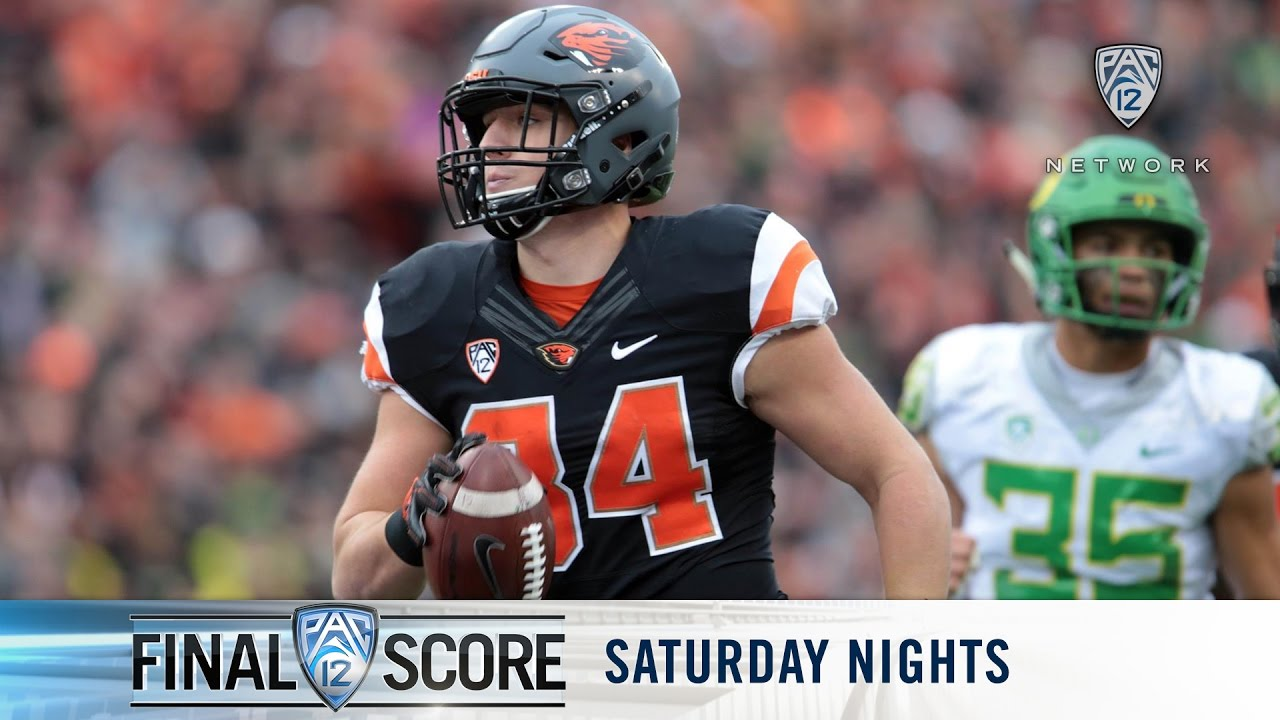 Download Highlights: Oregon State football downs Oregon, gets first Civil War win since '07