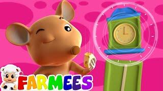 hickory dickory dock  nursery rhymes  kids songs  3d rhymes by Farmees