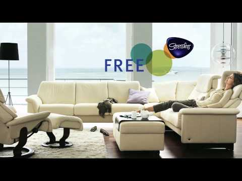 Fairhaven Furniture Stressless Leather Promotion   Duration: 31 Seconds.