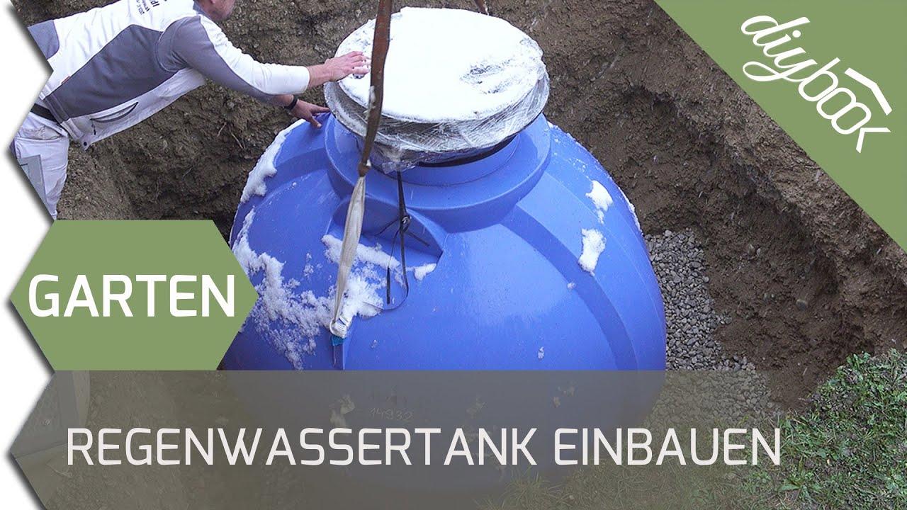 Prächtig Regenwassernutzung: Unterirdischen Regenwassertank einbauen - YouTube #IP_36