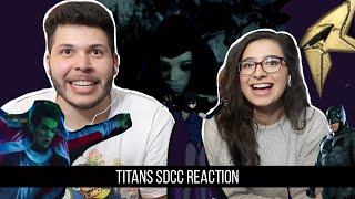 Titans - SDCC Official Trailer Reaction!!!