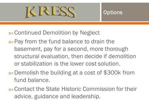 Texarkana, Texas-Saving the Kress Building