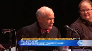 Barronelle Stutzman Oral Arguments Washington State Supreme Court 11-15-16