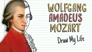 WOLFGANG AMADEUS MOZART | Draw My Life