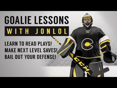 NHL 17 Goalie Lessons w/ jonlol – The Best Goalie Tips!