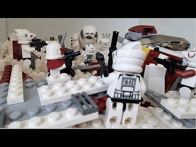 Search for Survivors of a Shuttle Crash on Hoth - LEGO Star Wars MOC (Moc Contest Moc Builder)