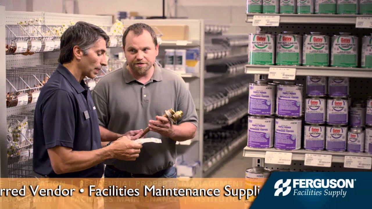 Ferguson: Hospitality & Facilities Maintenance - YouTube