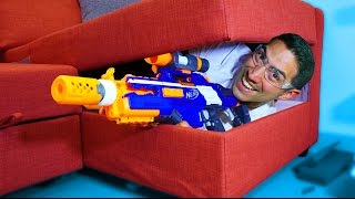 One of Battle Universe's most viewed videos: NERF Hide And Seek [Ep 3]