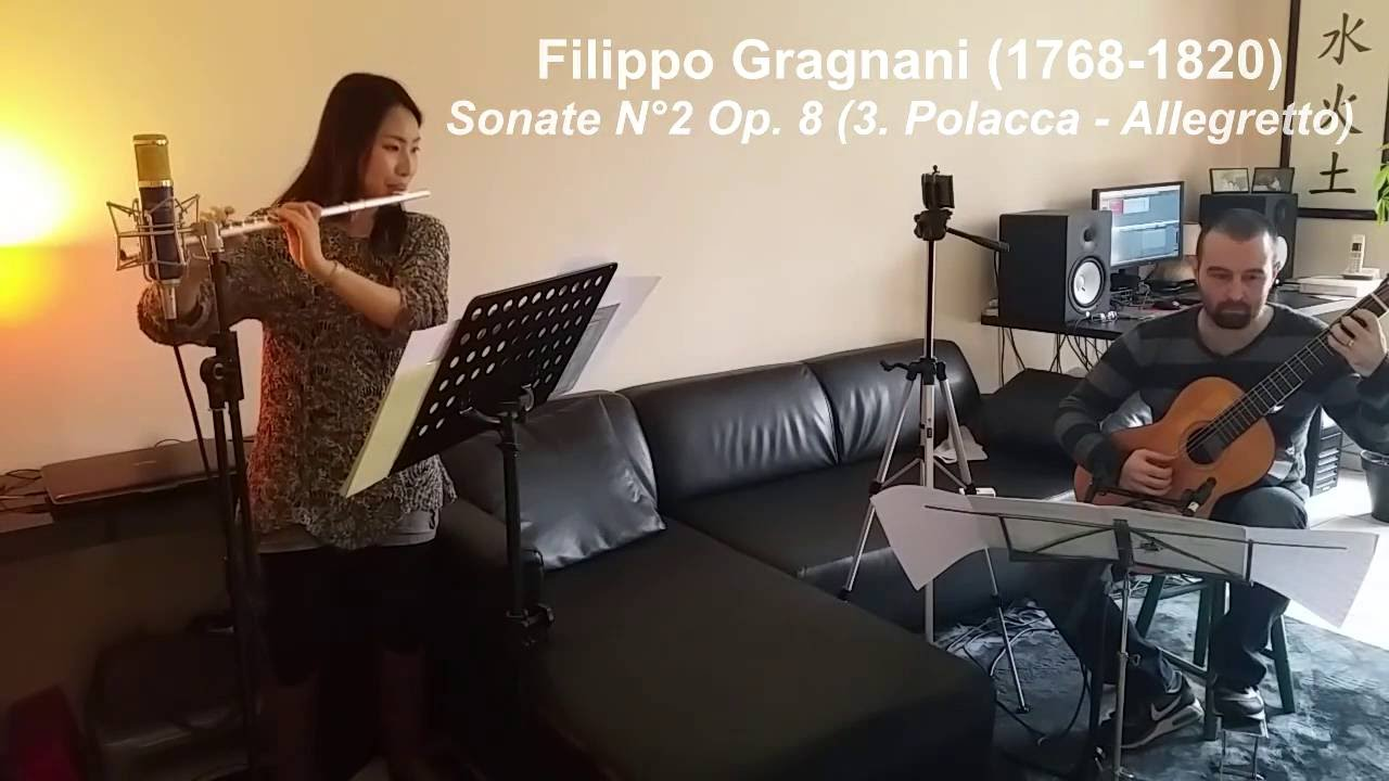 Filippo GRAGNANI (1768-1820) - Sonate n°2 Op  8 (3  Polacca - Allegretto)