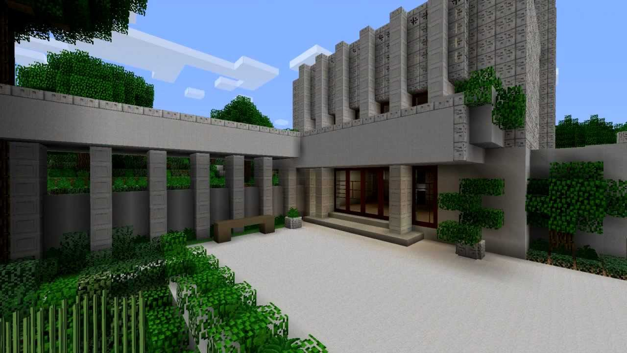 Minecraft Millard House YouTube
