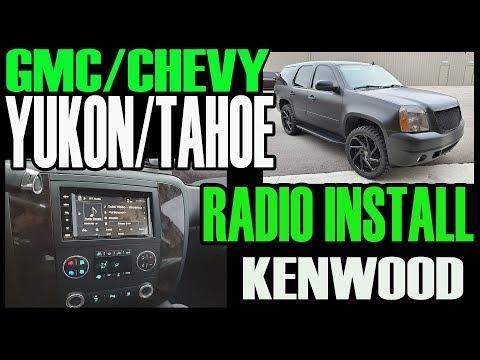 GMC YUKON / CHEVY TAHOE KENWOOD RADIO DOUBLE DIN INSTALL