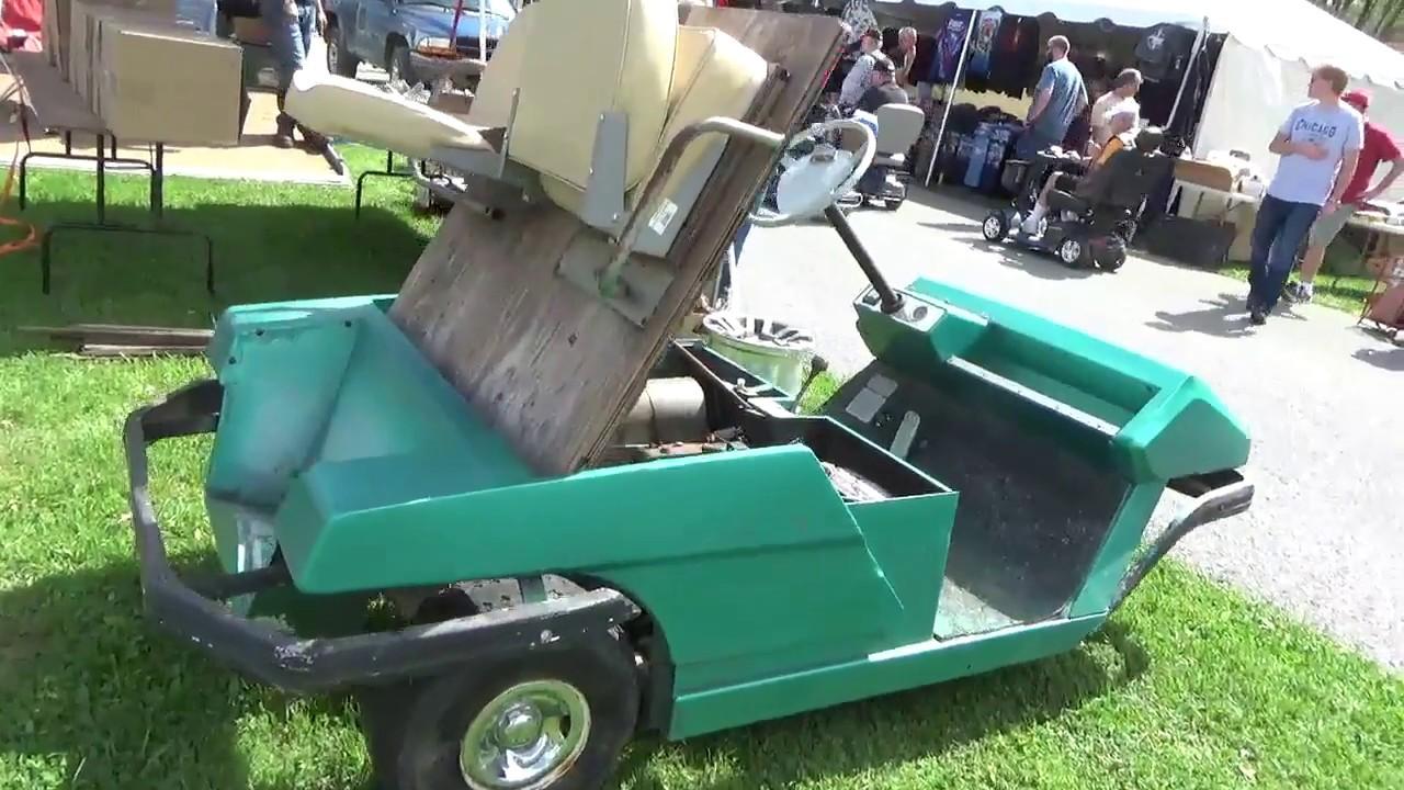 3 Wheeled Golf Cart