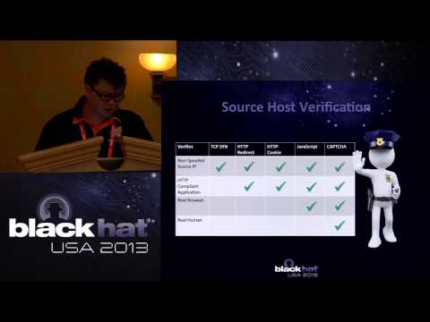 Black Hat 2013 - Universal DDoS Mitigation Bypass